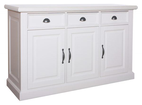 Landelijk Dressoir Orlando 159 cm 3-deuren 3-laden