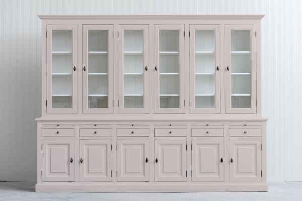Landelijke Buffetkast Bo 2x6-deuren 6-laden Beige