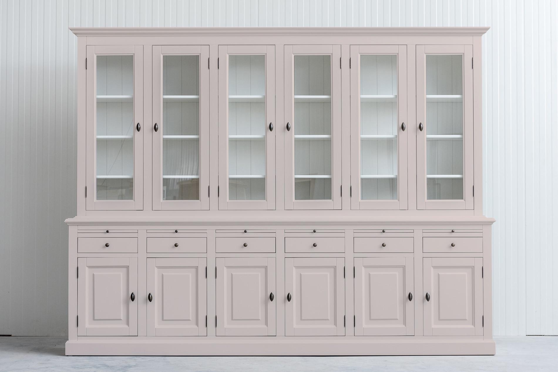 Landelijke Buffetkast Bo 2×6-deuren 6-laden Beige