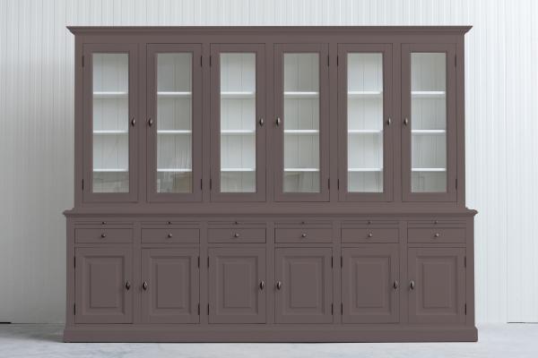 Landelijke Buffetkast Bo 2x6-deuren 6-laden Bruin