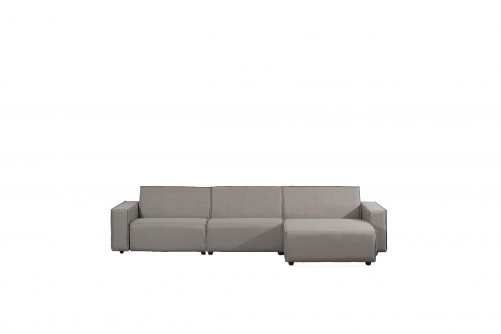 Bubalou 6 zit lounge lichtgrijs