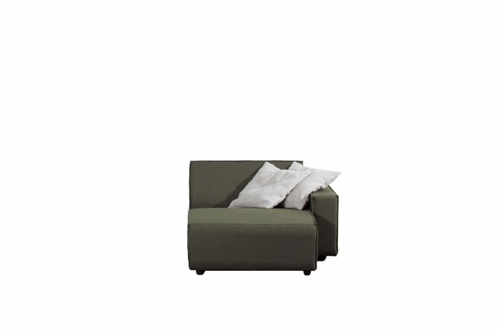 Bubalou divan rechts – Groen