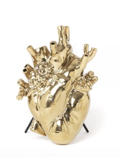 Bloom vase gold