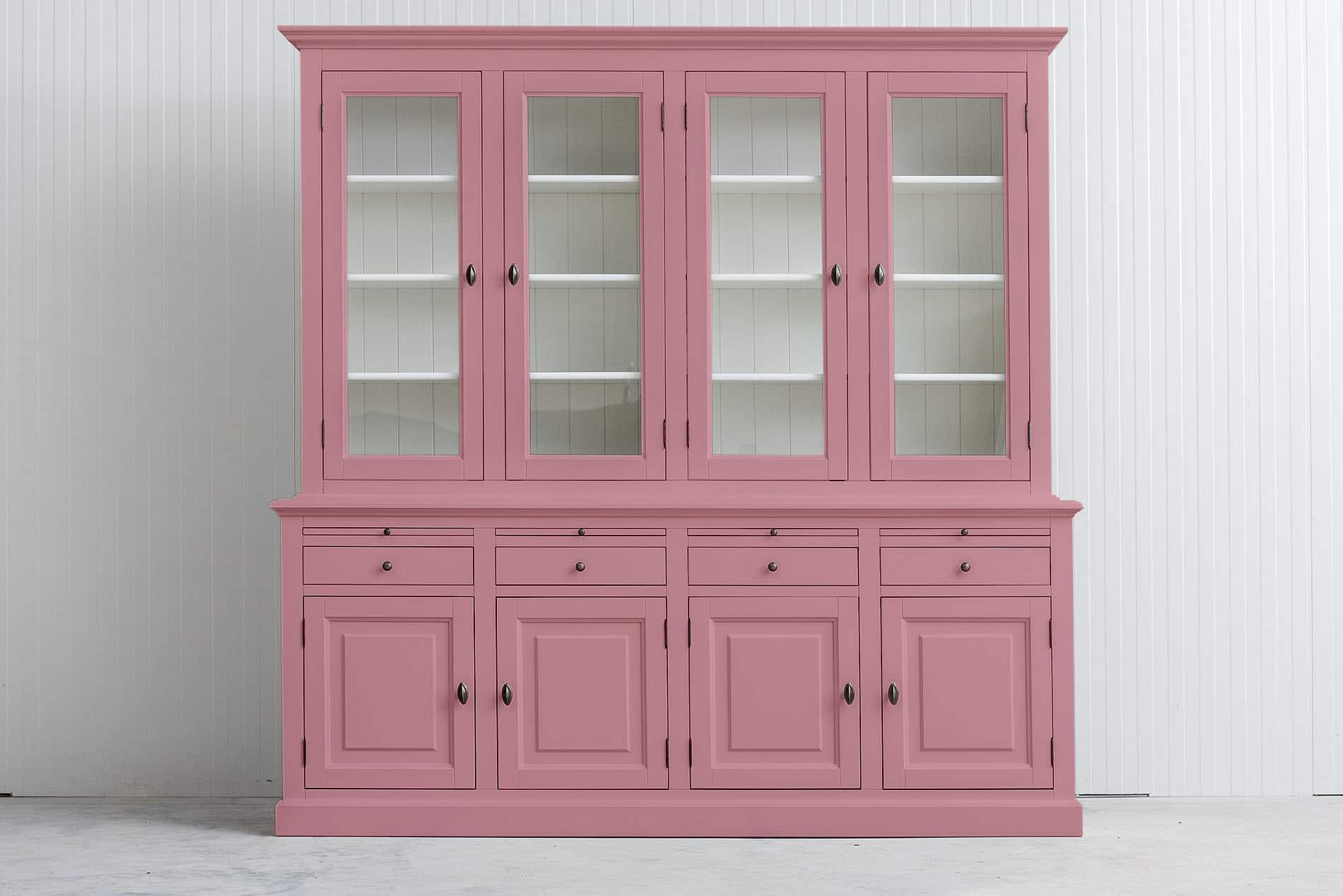 Landelijk buffetkast Bo 2×4 – Licht roze – RAL 3015