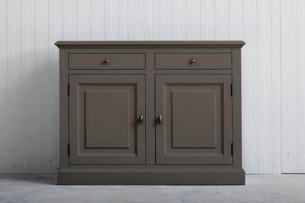 Landelijk dressoir Bo 2-deuren 2-laden olijf