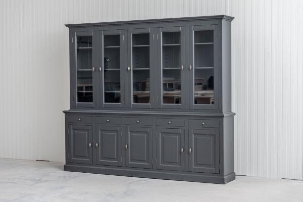Buffetkast BO 2x5 deuren 5-laden Antracit