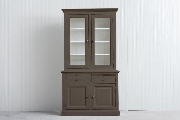 Landelijke Buffetkast Bo 2x2-deuren 2-laden Olijf.