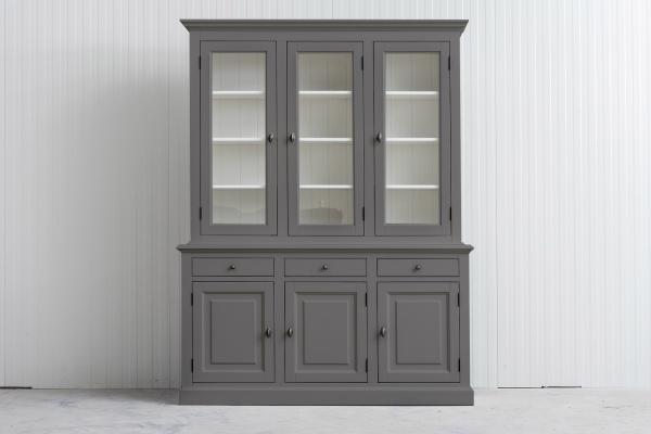 Buffetkast Bo 2x3-deuren 3-laden Kwarts grijs