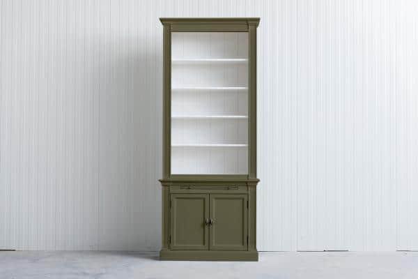 Landelijke Boekenkast Bo 1m  Rietgroen Ral 6013