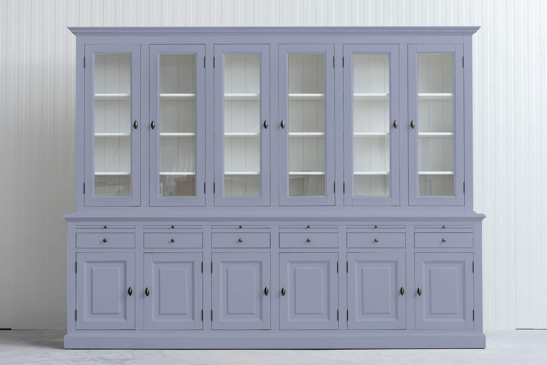 Landelijke buffetkast Bo 2×6 deuren 6-laden