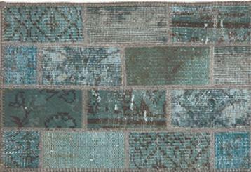 Carpet Vintage - Light blue