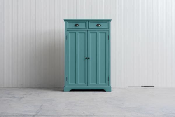 meidenkast Bo (ook voor jongens) Pastel-turquoise.
