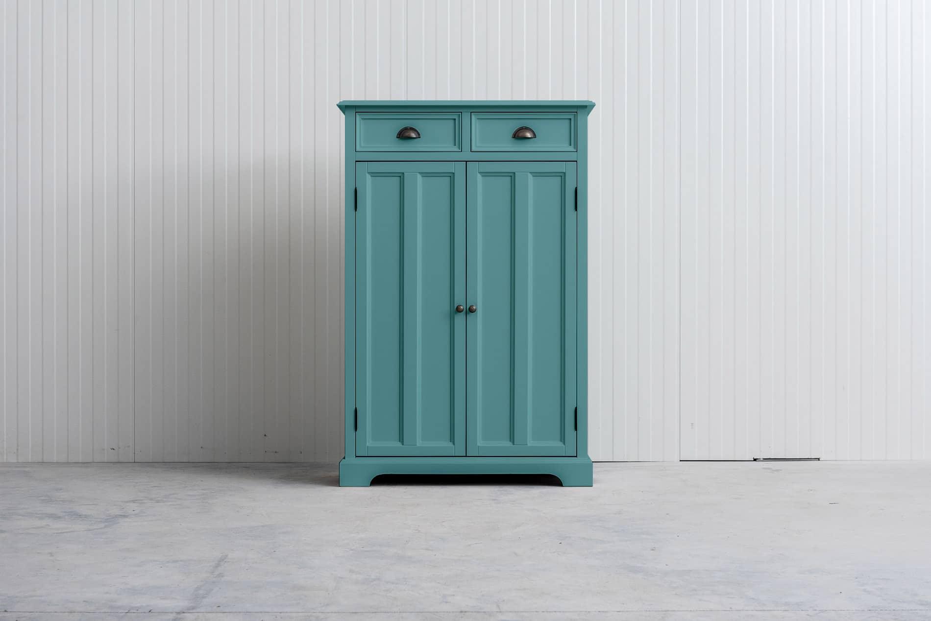 Meidenkast Bo (ook voor jongens) Pastelturquoise RAL6034