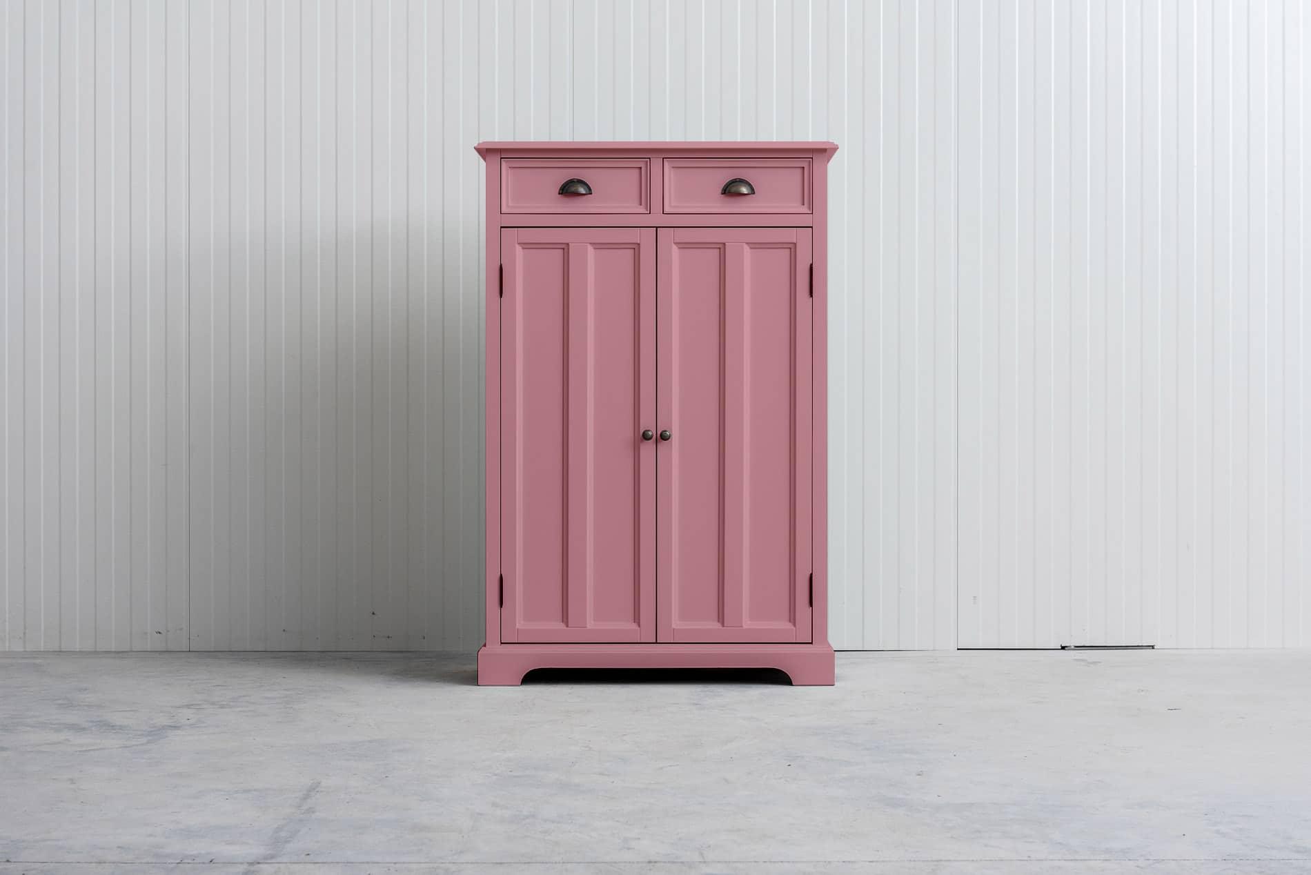 Meidenkast Bo (ook voor jongens) Roze RAL3015