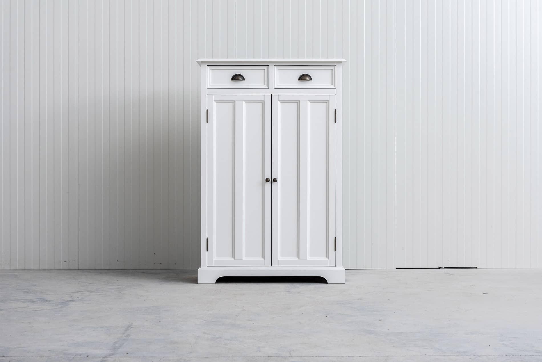 Meidenkast Bo (ook voor jongens) Wit