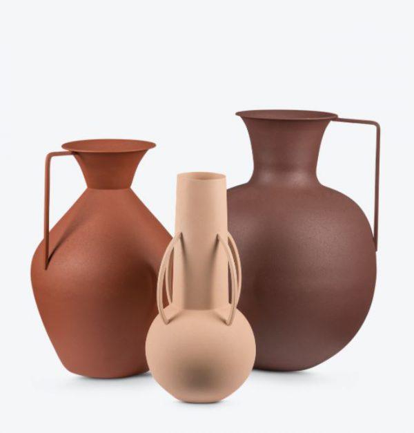 Vase Brown - set van 3
