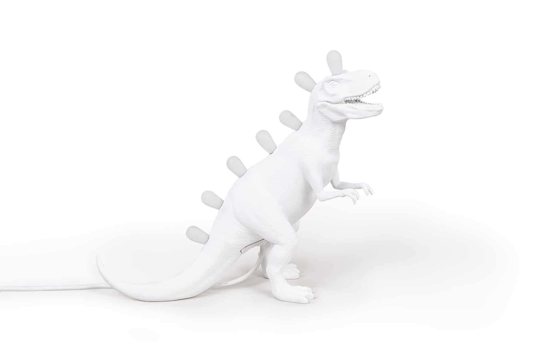 Seletti – Jurassic Rex Tafellamp – Wit – 3