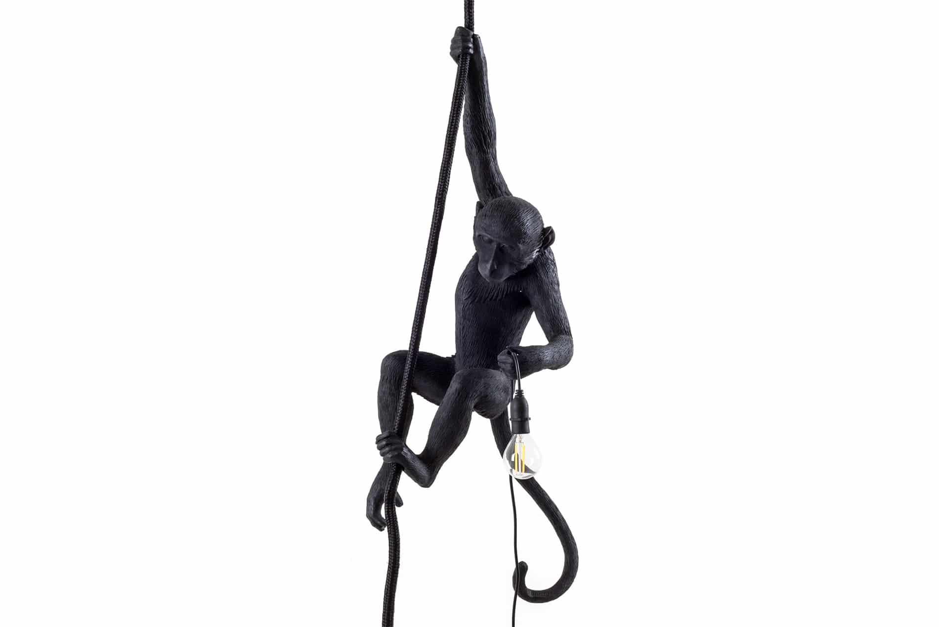 Seletti – Monkey Lamp – Black – 3