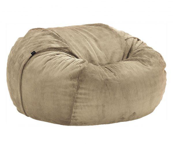 Beanbag large - Cord velours khaki
