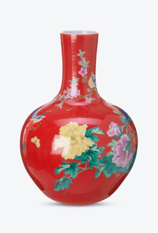 Vase Red