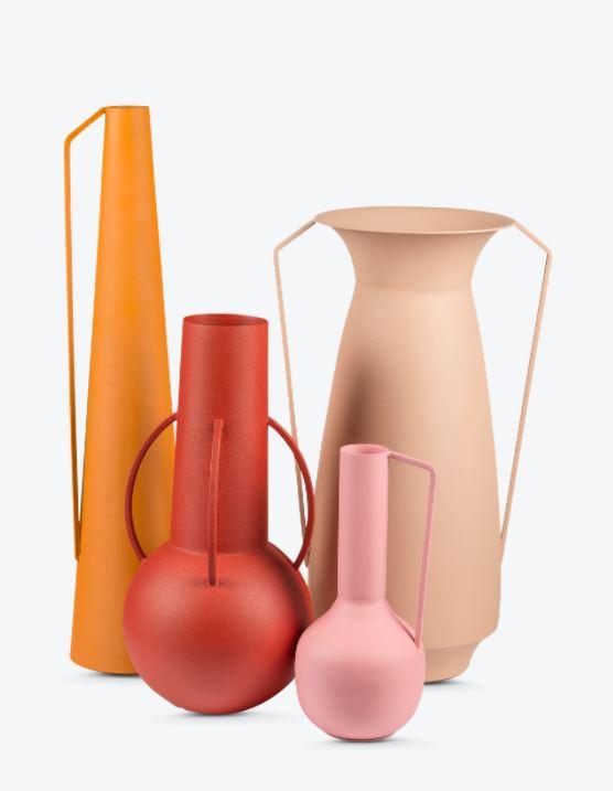 Vase Sunset - set van 4
