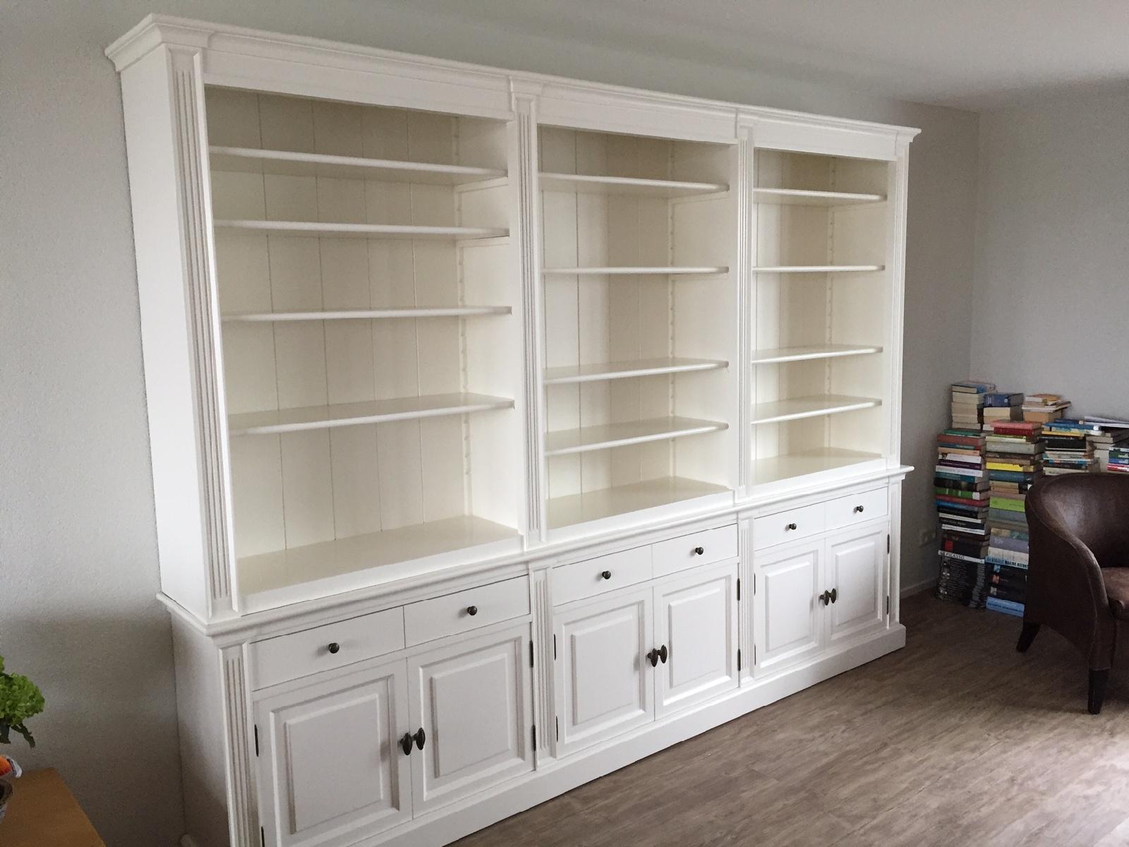 Boekenkast op maat kopen: op maat gemaakte boekenkasten
