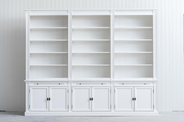 Landelijke boekenkast bepaal zelf de afmeting