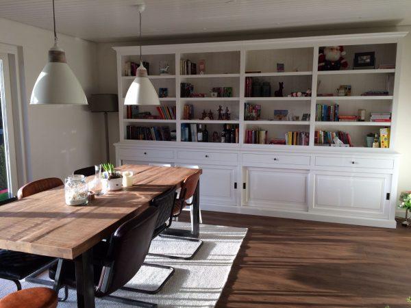 boekenkast bo 4 meter strak