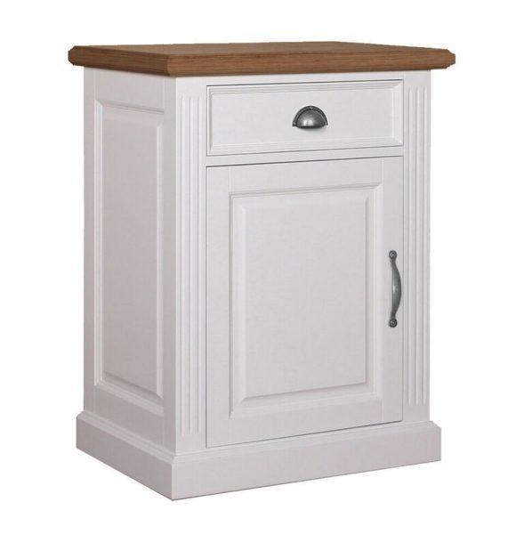 Landelijk Dressoir Orlando Oak 72cm 1 deur 1 lade - linksdraaiend