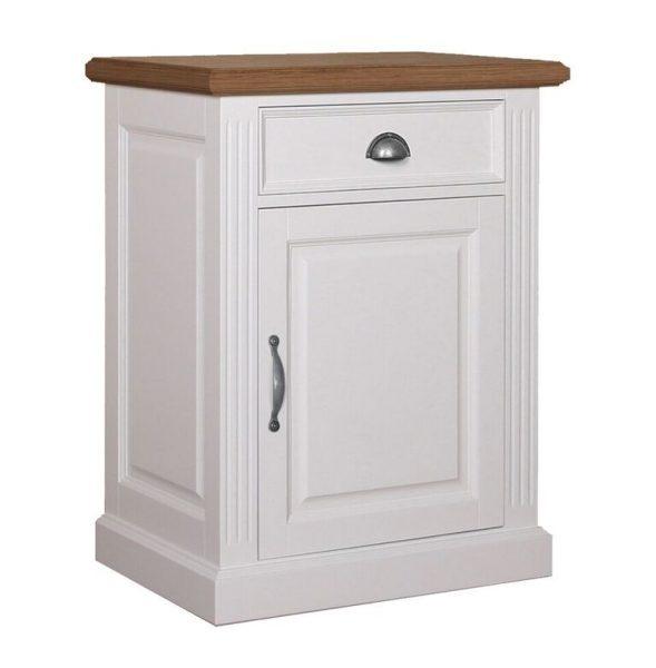 Landelijk Dressoir Orlando Oak 72cm 1 deur 1 lade - rechtsdraaiend