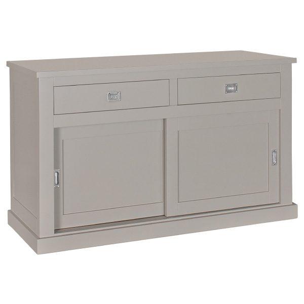 Landelijk Dressoir Boxx 2-deuren 2- laden grijs
