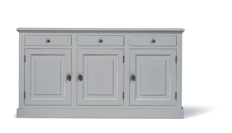 Dressoir Wit Landelijk : Landelijk dressoir bo deuren laden grijs