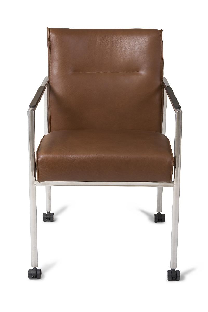 drive-stoel-rvs-leer-shelby-bruin