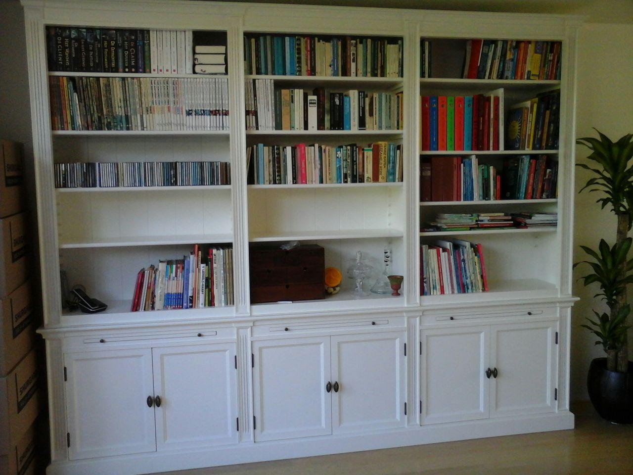Boekenkast Op Maat Almere.Landelijke Boekenkast Bo 3 M Almere