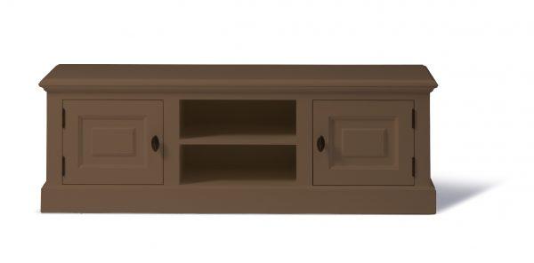 Landelijk Tv-meubel Bo 2-deuren 2-open vak Olijf 200cm.