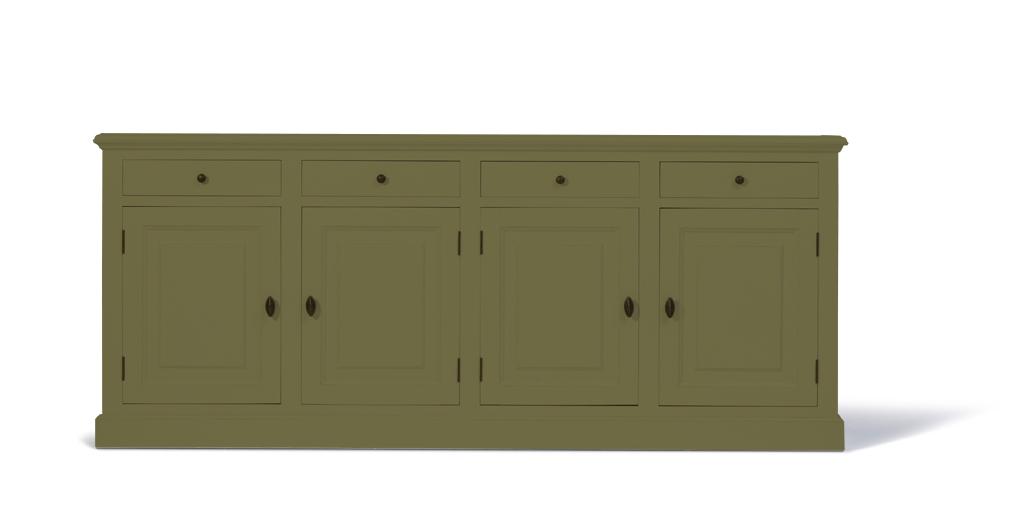 landelijk-dressoir-bo-4-deuren-4-laden-olijfgrijs-kastenn.nl_