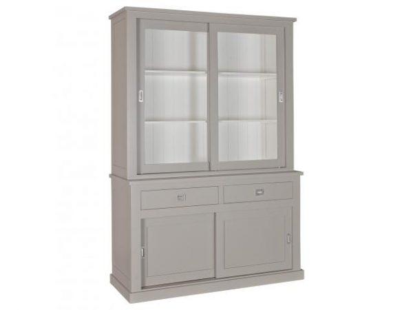 landelijke buffetkast Boxx 2x2-deuren 2-laden.