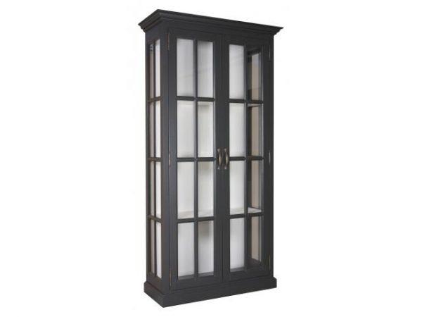 Landelijke Vitrinekast Clearglass 2-deuren
