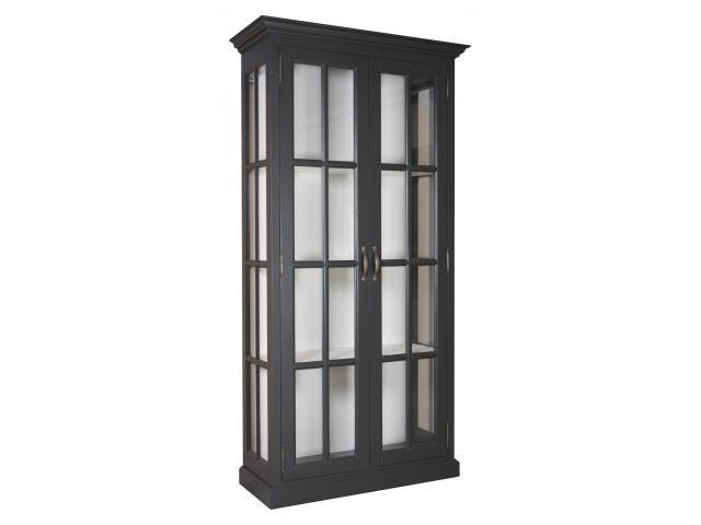 landelijke-vitrinekast-clearglass-2-deuren-kastenn.nl