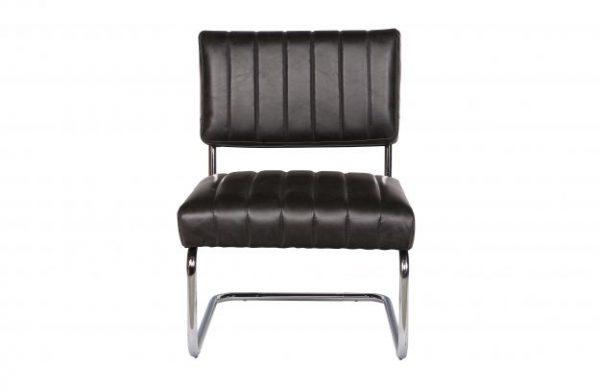 Astra loungestoel zwart