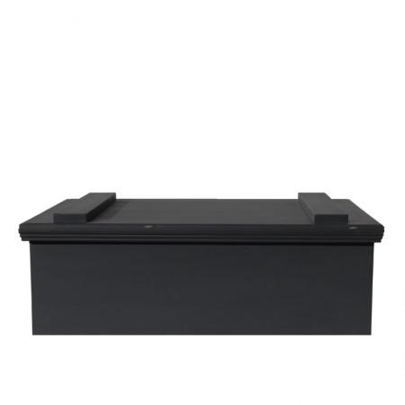 salontafel / kist zwart
