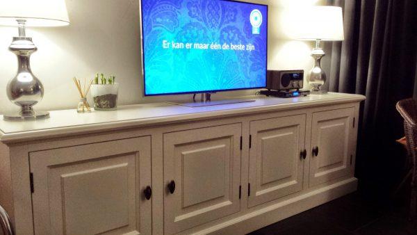 Landelijk Tv meubel op maat Doetinchem
